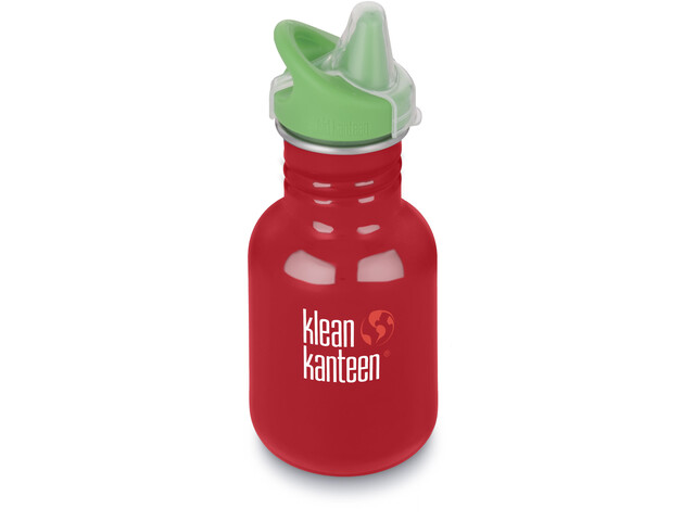 Klean Kanteen Kid Classic Bottle Sippy Cap 355ml Barn mineral red